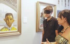 blind art